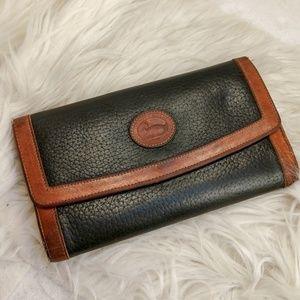 Authentic black brown Dooney & Bourke wallet